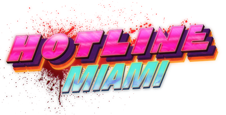 Hotline Miami logo small
